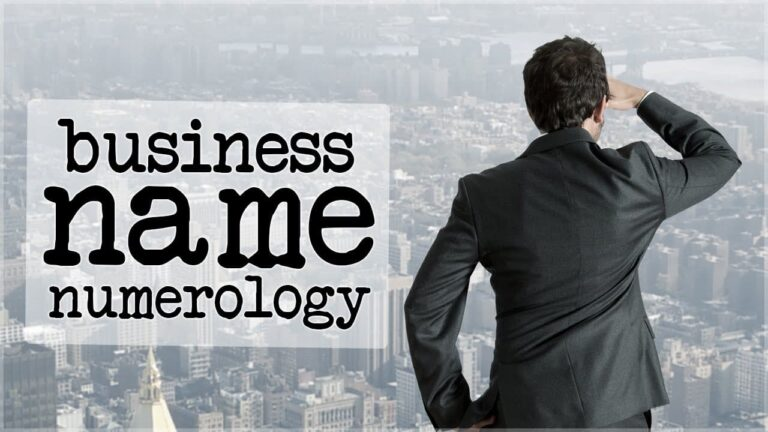 Numerology for a Business Name